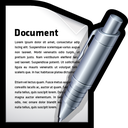 write, edit, create, word, document icon