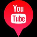 media, you, logo, social, tube icon