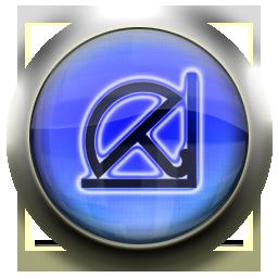 blue, antivir icon