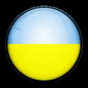 ukraine, flag, country icon