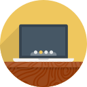 computer, netbook, mac os, notebook, workplace, macbook, mac, laptop, device icon