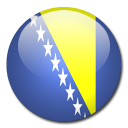 flag, bosnia, herzegovina, country, and icon