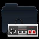 Games Folder Badged icon