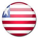 liberia, flag, country icon