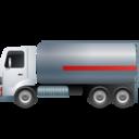 FuelTankTruck Left Grey icon