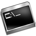 prompt, command icon