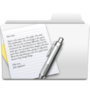 textedit,folder icon