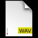 wav,fileextension icon