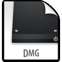 file, dmg, z icon