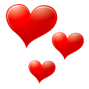 avatar, red, valentine, love, face, emot, heart, emotion icon