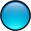 Button Blank Blue icon