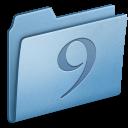 classic, blue icon