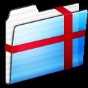 Folder, Package, Stripe icon