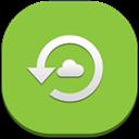 Backup, Flat, Round icon