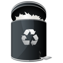 recycle, full, dock icon