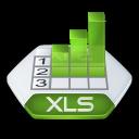 Excel, Xls icon