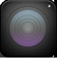 Alt, Camera, Dark icon