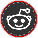 social, online, reddit, media icon