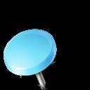 left, drawingpin, mapmarker, azure icon