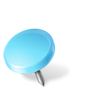 Map Marker Drawing Pin Left Azure icon
