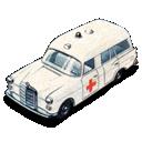 car, mercedes, ambulance, benz icon