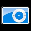 shuffle, blue, 2g, ipod icon