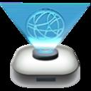 network,drive,modern icon