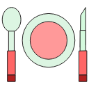 dinner, food, meal, restaurant, eat, cooking icon