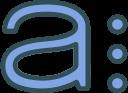asana, logo, network, brand, social icon