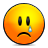 sad, emote icon