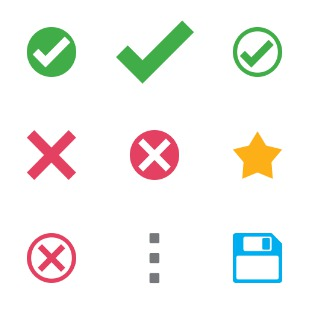 Flat Actions 9 icon sets preview