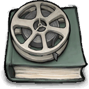 about, book, movies icon