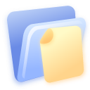 document, folder, paper, file icon