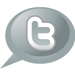 twitter, speech, bubble icon