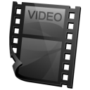 clip, video icon