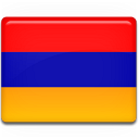country, flag, armenia icon