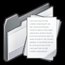 folder, paper, document, file icon