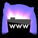 Aurora www icon