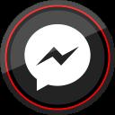 social, messenger, media, logo, facebook icon