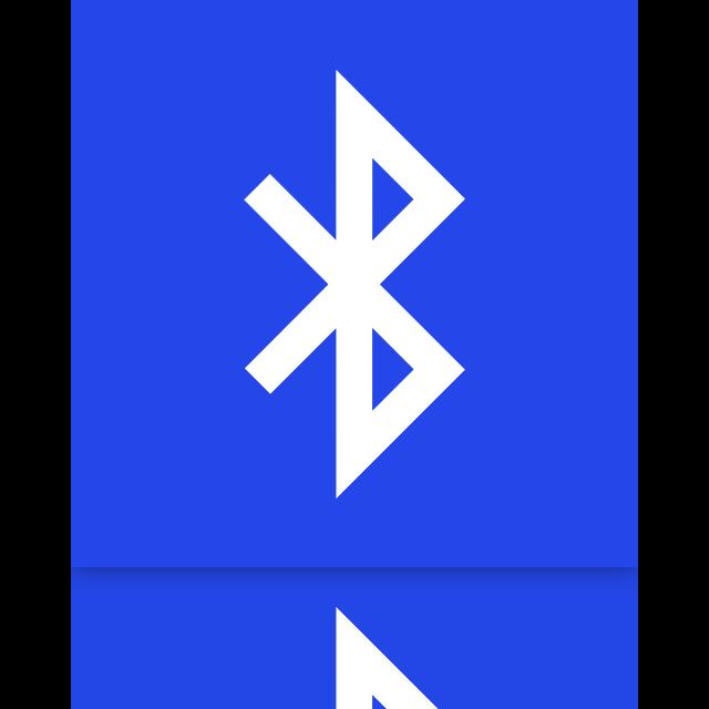 mirror, bluetooth icon