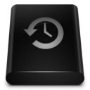 black,drive,backup icon