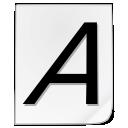 Kcmfontinst icon