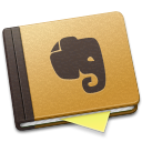 Alt, Brown, Evernote icon