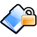security, lock, locked, folder icon