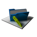 folder,full,edit icon