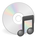media cdrom audio icon