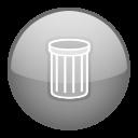 trash, recycle bin icon