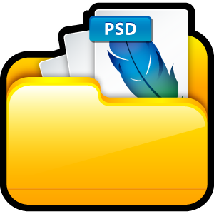my adobe, photoshop, my, ps, document, paper, adobe, file icon