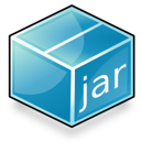 application, archive, java icon
