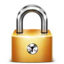 secure, lock, privacy, locked icon